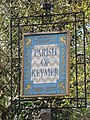 Sign for the Parish of Keymer, Adastra Park - geograph.org.uk - 1304389.jpg