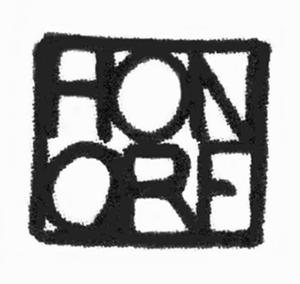 Philippe Honoré (cartoonist) - Image: Signature honore