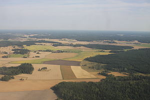 Agriculture in Sweden - Agricultural land in Sigtuna Municipality, close to Arlanda Airport.