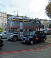 Silver Routemaster Bus in Knightsbridge - geograph.org.uk - 3108657.jpg