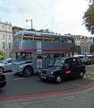 Silver Routemaster Bus in Knightsbridge - geograph.org.uk - 3108657.jpg