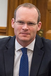 Simon Coveney Irish Fine Gael politician