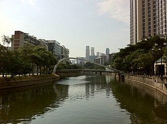 Robertson Quay - Image: Singapore Robertson Quay Mid Section