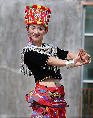 Jingpo people - Singpho Traditional Attire.