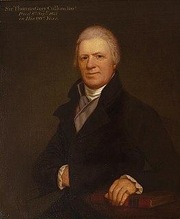 Thomas Gery Cullum British botanist