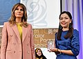 Sirikan Charoensiri with Melania Trump.jpg