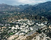 The JPL complex in Pasadena, California