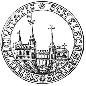 Skælskør - Image: Skælskørs segl