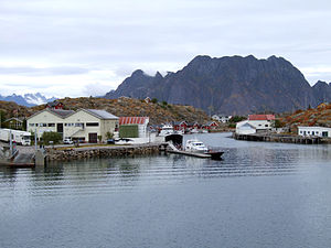 Skrova - Skrova, with the Lofoten wall in the background