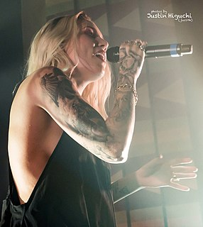 Skylar Grey American singer, songwriter and record producer