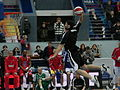 Slam-dunk by Artyom Yakovenko at all-star PBL game 2011.JPG
