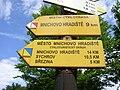Směrovky pod Valečovem, místní cyklotrasy.jpg
