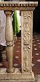 Smn, cappella della pura, balaustra con stemma ricasoli.JPG