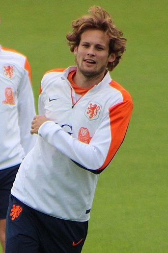 Daley Blind - Blind training with the Dutch national team in 2014