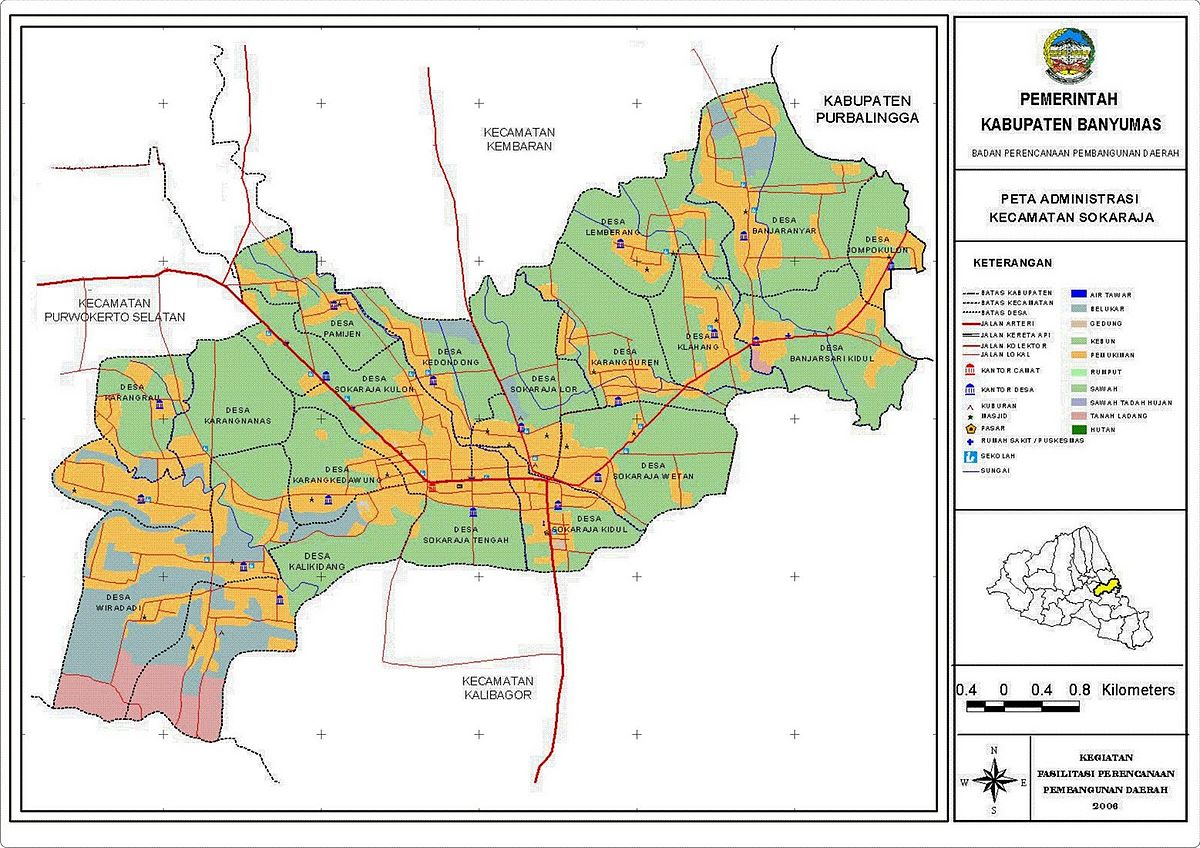Sokaraja, Banyumas - Wikipedia bahasa Indonesia, ensiklopedia bebas