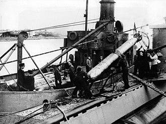 British 21-inch torpedo - Image: Sokol torpedo