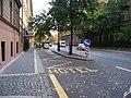 Sokolská 8, obslužný pruh u hotelu City Club Prague.jpg