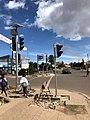 Solar traffic light Asmara, Eritrea.jpg