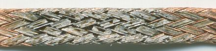 ... and soaked with solder and residue Solder wick-close up-solder impurities PNrdeg0112.jpg
