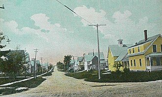 Pittsfield, Maine - Image: Somerset Avenue, Pittsfield, ME
