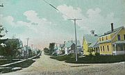 Somerset Avenue in c. 1908