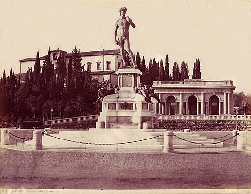 Sommer, Giorgio (1834-1914) - n. 3516 - Firenze - Piazza Michelangelo