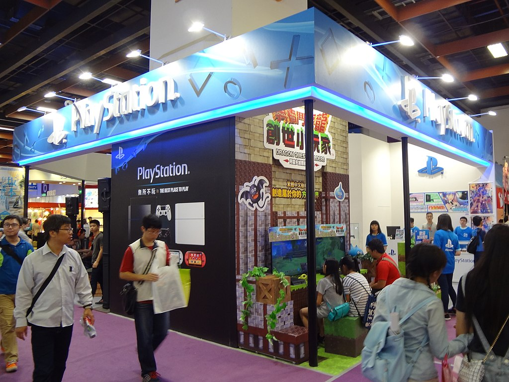Exhibition Booth Wiki : File sony interactive entertainment taiwan booth comic