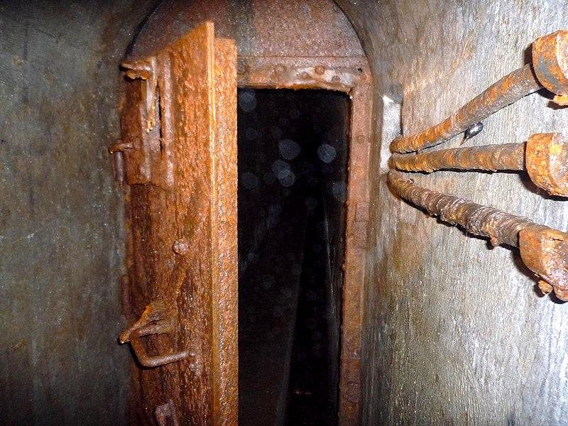 Abri du Gros Bois: souterrain