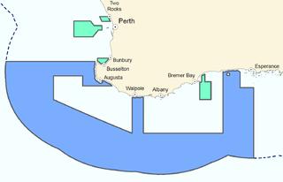 Marine protected area off Western Australia