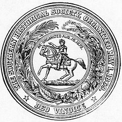 Seal of the Southern Historical Society.
