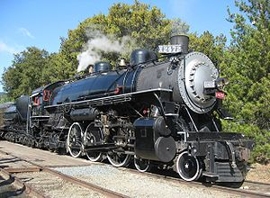 Southern Pacific Railroad 4-6-2 -2472 at Sunol California May 2009.jpg