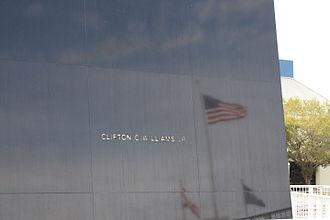Clifton Williams - Space Mirror Memorial C.C. Williams