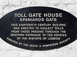 Spaniards gate hampstead