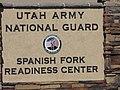 Spanish Fork Readiness Center street sign, Jul 15.jpg