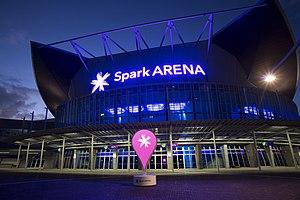 Spark Arena - Image: Spark Arena