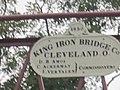 Sparkill Creek Drawbridge - Sign Showcasing the Bridge Builders.JPG