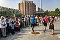 Spectators of PRC70 at Ming City Wall Relics Park (20191001095126).jpg