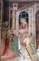 Spinello aretino, Caterina in prigione converte la regina con le dame e riceve la visita di Cristo 01.JPG