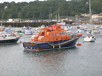 Saint Peter Port Lifeboat Station - Image: Spirit of Guernsey July 2012