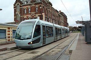 Valenciennes tramway - Image: Sporvognsrejser