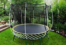 Springfree trampoline wikipedia - Gartentrampolin stiftung warentest ...