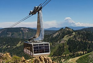 Squaw Valley Ski Resort - Aerial tram to High Camp