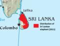 Sri Lanka elephant map.png
