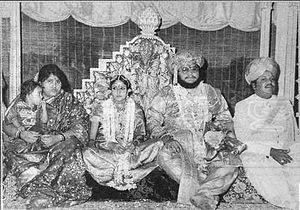 Srikantadatta Narasimharaja Wadiyar - Image: Srikanta Dutta Wadiyar's Wedding