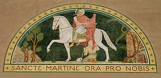 Jan Verkade - Image of St Martin at Beuron, attributed to Jan Verkade