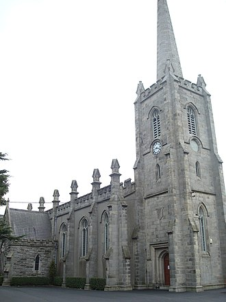 St. Philip and St. James Church, Booterstown - Image: St. Philip and St James Church Booterstown
