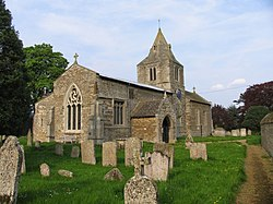 St Andrew's Church, Glaston, Rutland - from the southwest.jpg