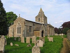 Glaston - Image: St Andrew's Church, Glaston, Rutland from the southwest