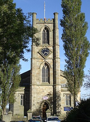 Farnworth - St John the Evangelist's Parish Church, Farnworth