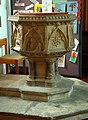 St John the Baptist, Harleston, Norfolk - Font - geograph.org.uk - 1561456.jpg